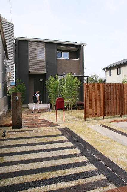 グリーン工房の外構工事施工例